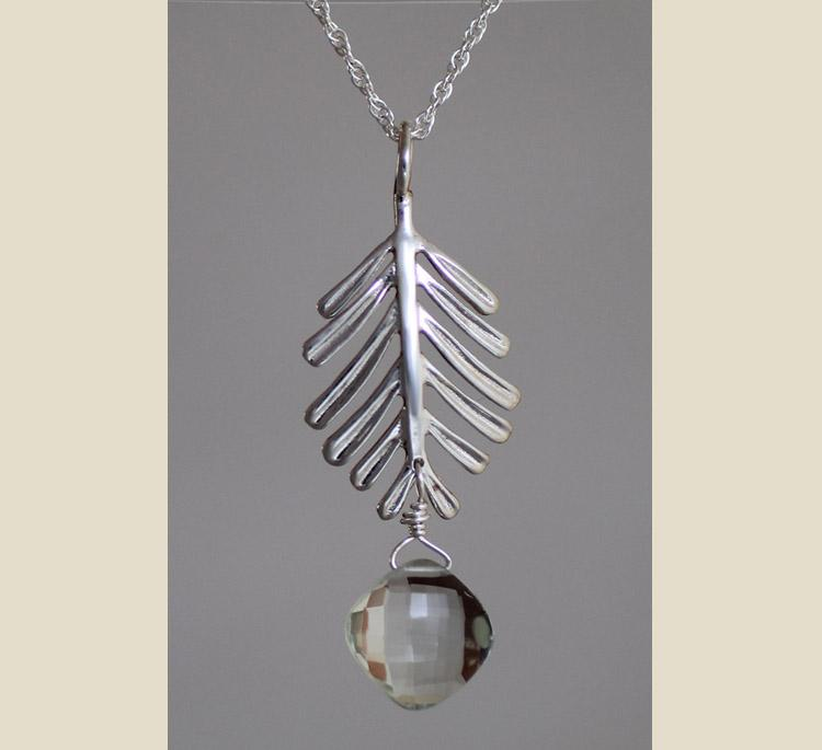 Sterling Silver Balsam Necklace