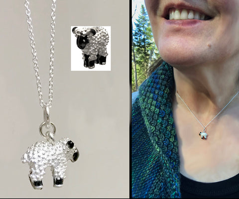 Lamb Necklaces - sterling silver