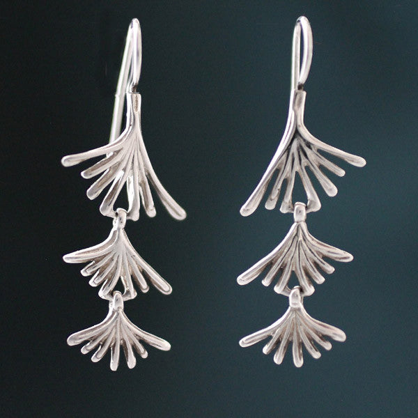 Pine Needle Cascading Earrings