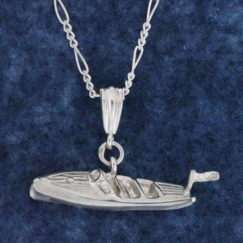 Sterling Silver Chris Craft Necklace