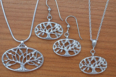 Tree of Life Jewelry - Sterling Silver
