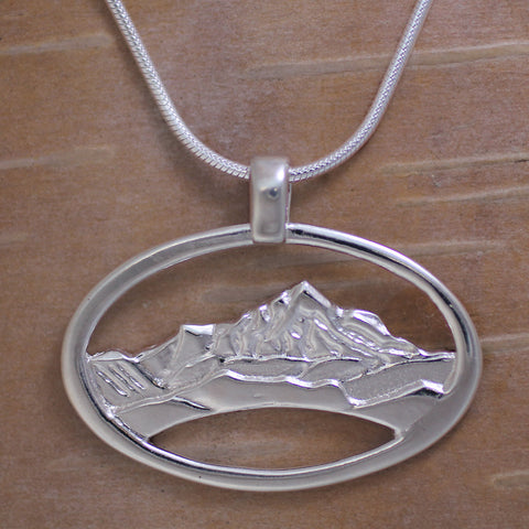 Mountain View Necklace - Sterling Silver
