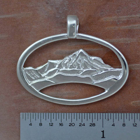 Adirondack Mountain Necklace