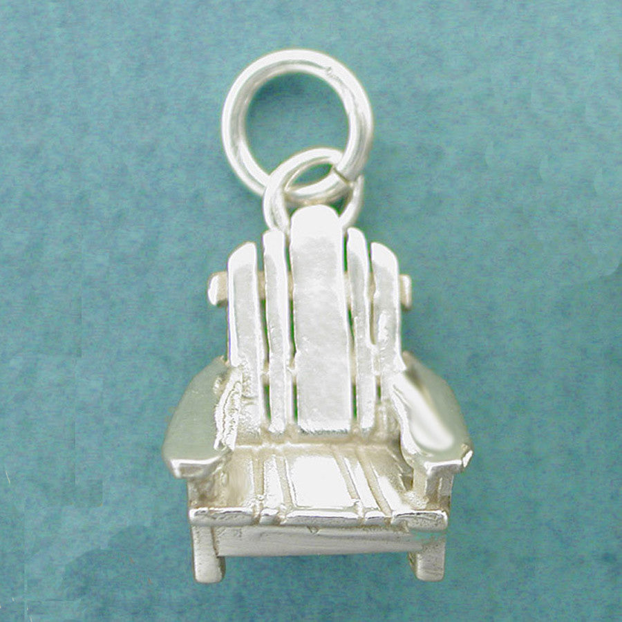 Sterling Silver Adirondack Chair Charm