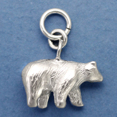 Sterling Silver Bear Charm