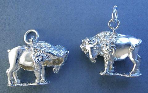 Sterling Silver Buffalo Jewelry