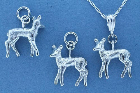 Sterling Silver Deer Jewelry