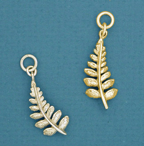 14k gold Fern Jewelry