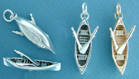 Sterling Silver Guide boat Jewelry