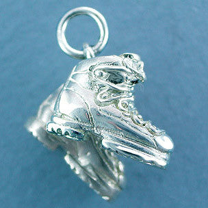 Sterling Silver Ski Boot Charm