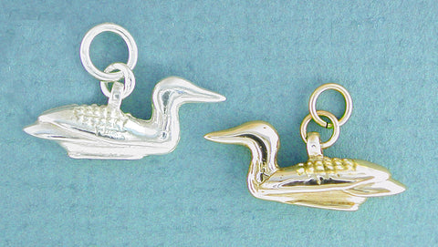 Loon Jewelry - Sterling Silver & 14kt Gold