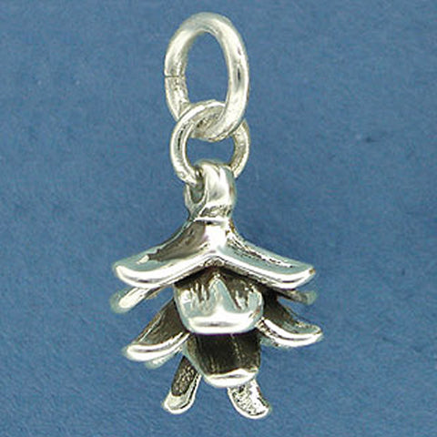 Spruce Pine Cone Charm