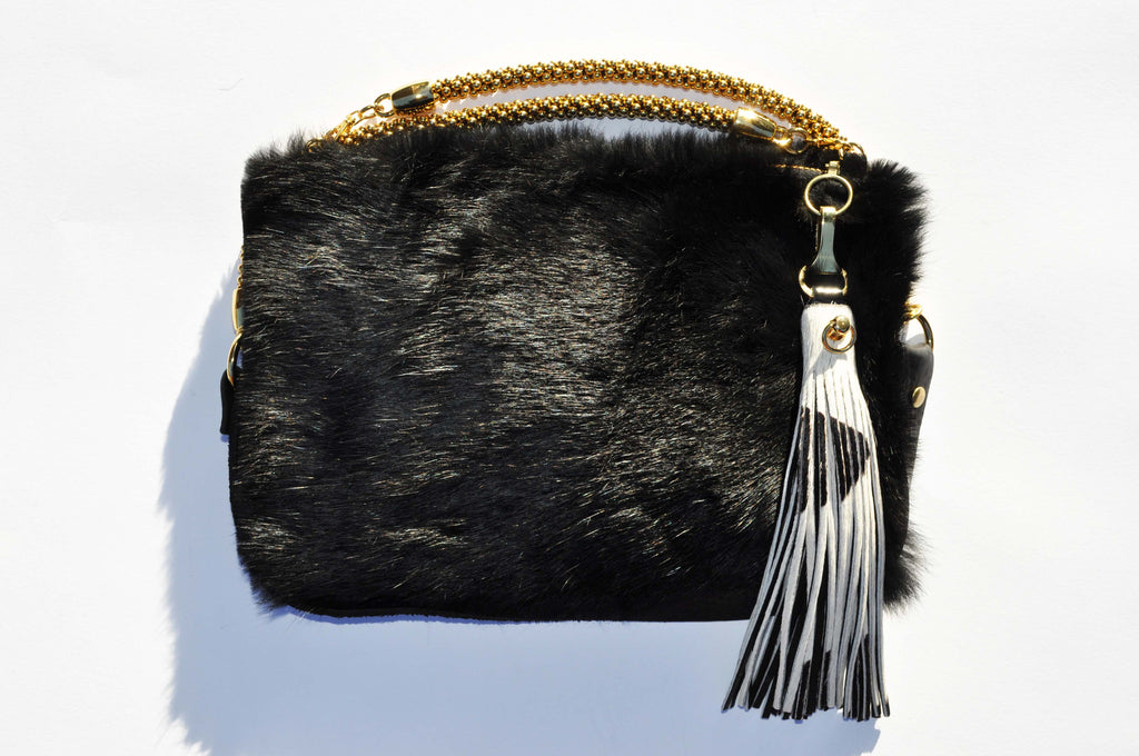 FUR CROSS BODY CALI