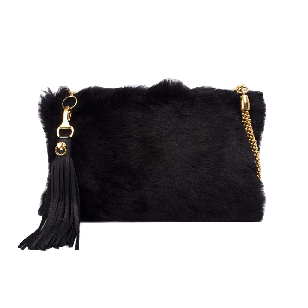 FUR CALI CLUTCH