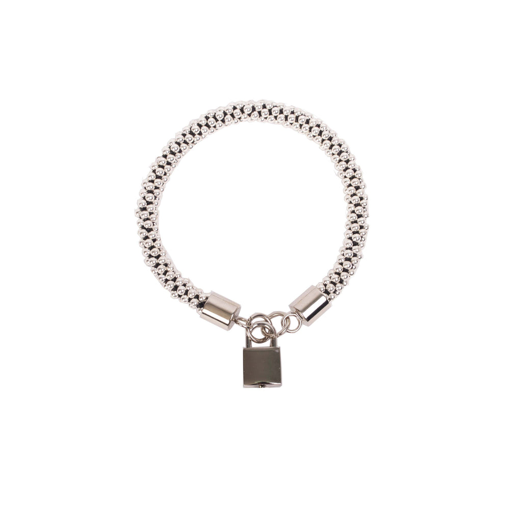 SILVER ISABELLE PADLOCK