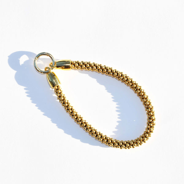 GOLD BEADED CHARM