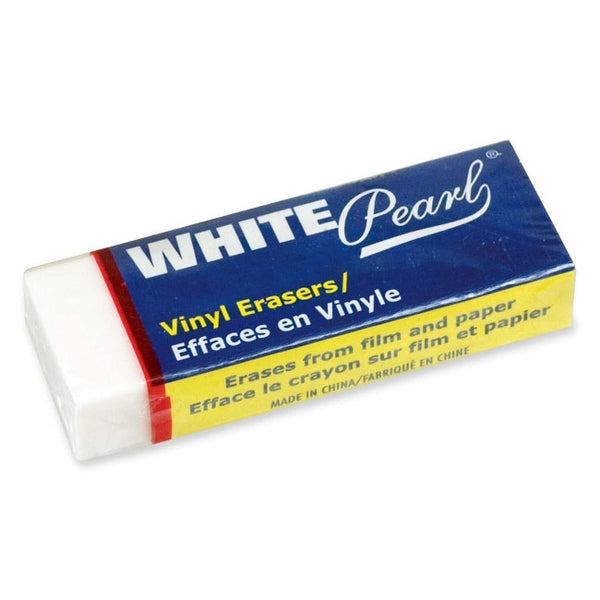 Eraser, White Vinyl - Large