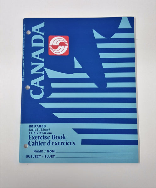 "Exercise Book, 80 pages 10-7/8 x 8.25"" - Asst"
