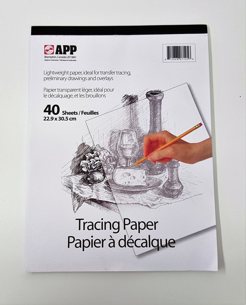 Tracing Paper, 9 x 12 x 44 sheets