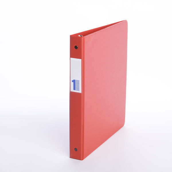 Binders, Comm. Grade 1 in - O Ring, Red