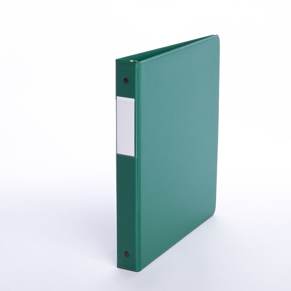 Binders, Comm. Grade 1 in - D Ring, Green