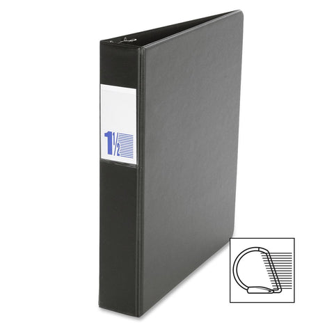 Binders, Comm. Grade 1.5 in - D Ring, Black