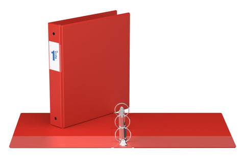 Binders, Comm. Grade 1.5  in - O Ring, Red