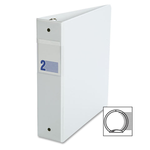 Binders, Comm. Grade 2 in - O Ring, White