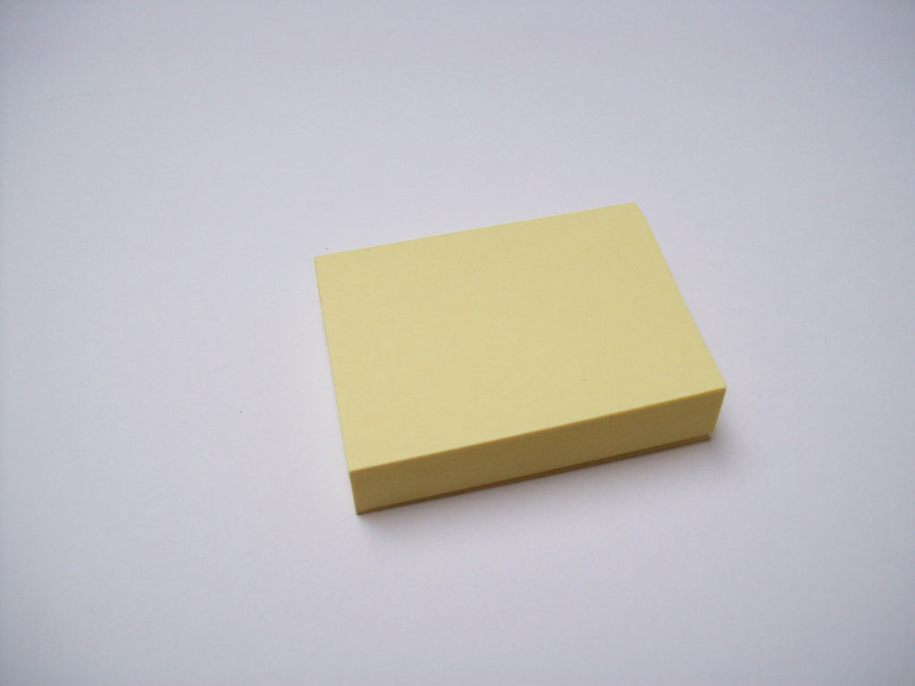Post-It Notes, 1.5 x 2 in x 100 sheets - 100% Recycled