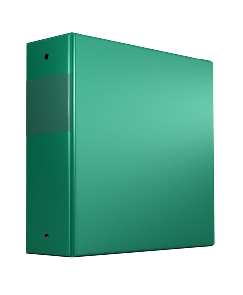 Binders, Comm. Grade 3 in - D Ring, Green