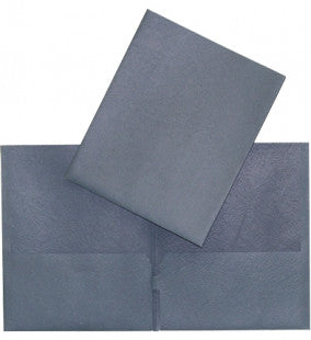 Twin Pocket Portfolio, Commercial - Dark Blue