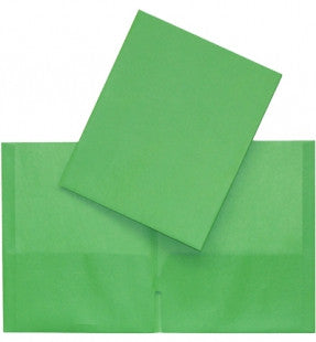 Twin Pocket Portfolio, Commercial - Green