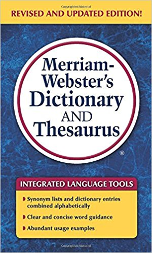 Dictionary & Thesaurus, 1200 pgs