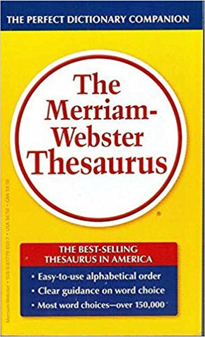 Thesaurus, Merriam-Webster, 800 pgs