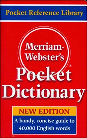 Dictionary, English Pocket Dictionary