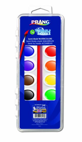 Paint Disc Set, Watercolour, 16 disc set