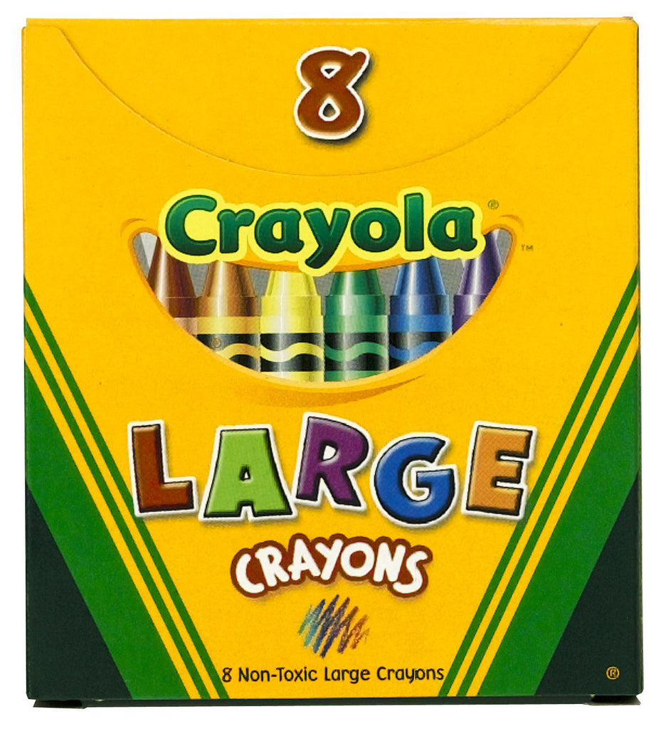 Crayons, Wax - Large Size