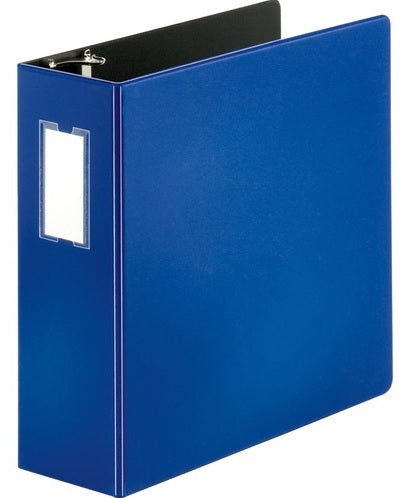 Binders, Comm. Grade, 3 in - O Ring, Blue