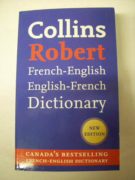 Dictionary, Collins Robert - French/English