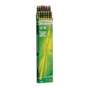 Pencils, HB Ticonderoga, First Quality