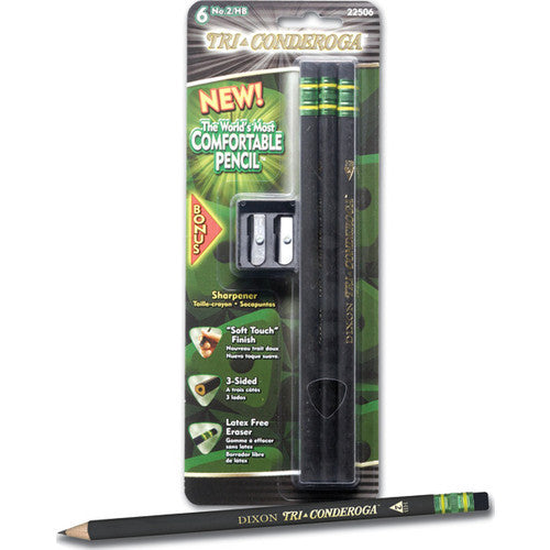 Pencils, Tri-conderoga® TRI-WRITE, Black Casing