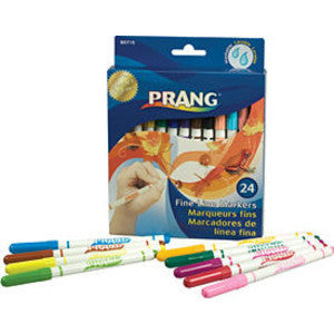 Markers, Fine Line Washable (24)