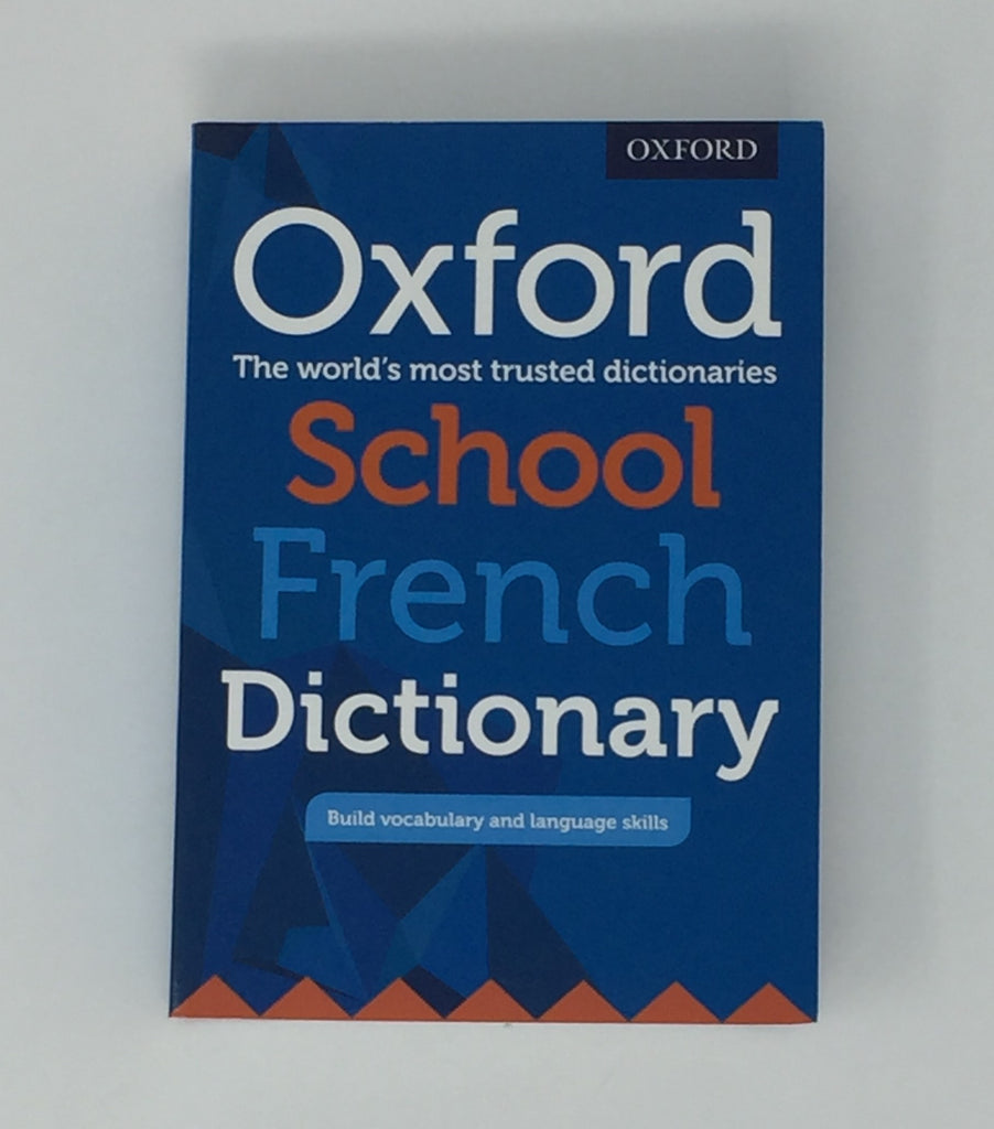 Dictionary, School French