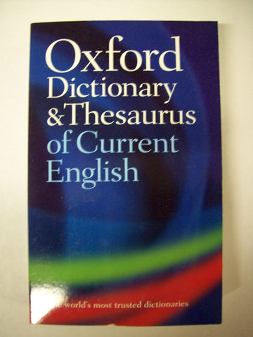Dictionary, English