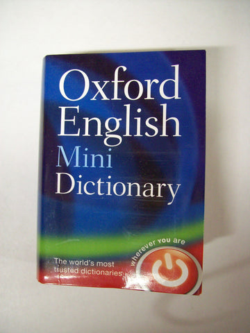 Dictionary, English Minidictionary