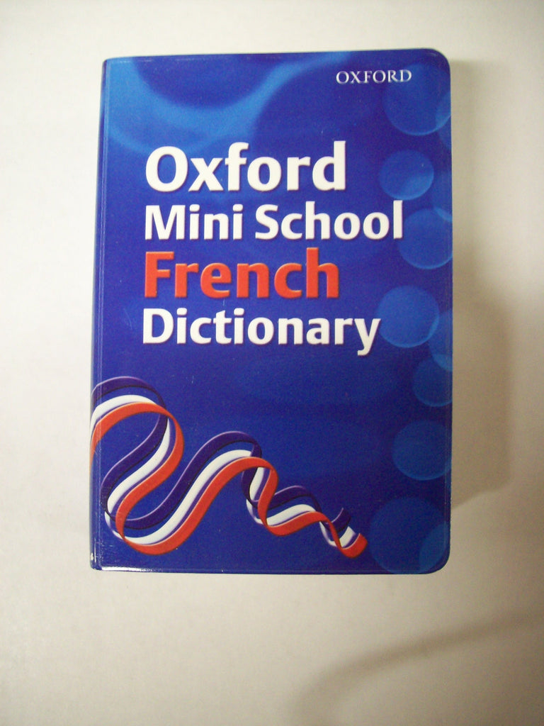 Dictionary, French School Minidictionary