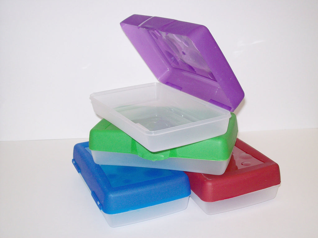Pencil Box, Plastic-REGULAR (21cm x 12.5cm x 6cm)