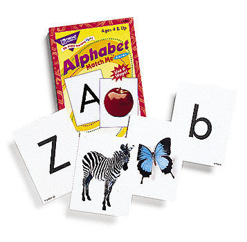 Alphabet Cards - Match Me