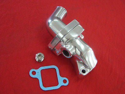 Polished 230 250 292 Chevy Inline Six Cylinder custom aluminum water outlet