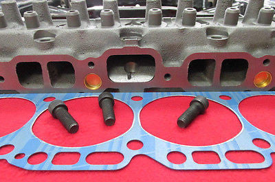 72 5 cc Stage 1 Intake Lump Ported Head 250 292 Chevy Inline 6 Cylinder